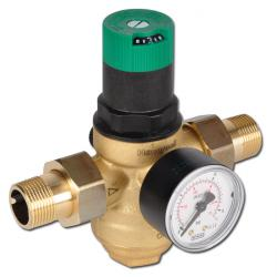 Filtertryckregulator för dricksvatten och kväve (silkopp i mässing)