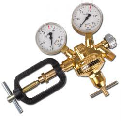 Réducteur de pression pour bouteille  - laiton pour travail à chaud - avec manom