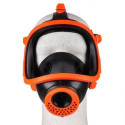 Masque intégral panoramique en caoutchouc sans filtre - filetage selon EN 148/1