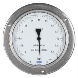 Manometro per misure di precisione con ghiera, Ø 160