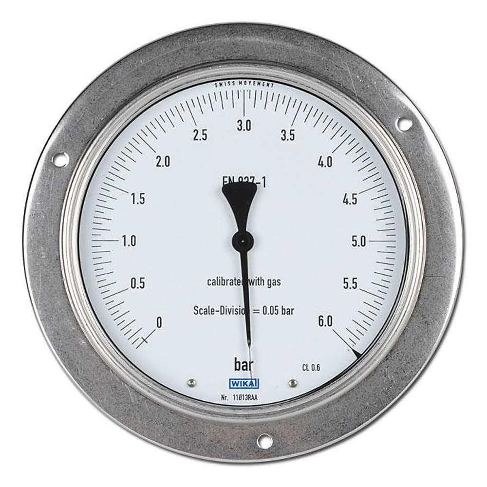 Manometer für Feinmessungen mit Frontring, Ø 160