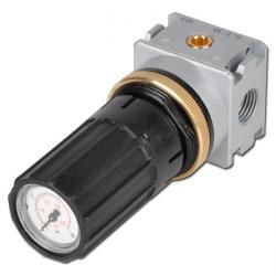 """Régulateur de pression avec manomètre intégré - G1/8"""" - 1100 l/min"""