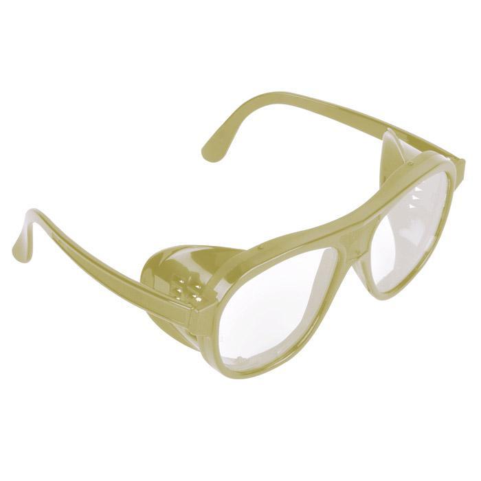 Universal-Nylonbrille - allgemeine mechanische Risiken - beige, schwarz