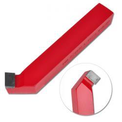 Hartmetall-Drehmeißel - gebogener Drehmeißel - HM-Sorte K 10/20 links - Länge 90