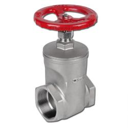 Muffle Stop Valve - Stainless Steel - -20ºC Up To Max. +200ºC