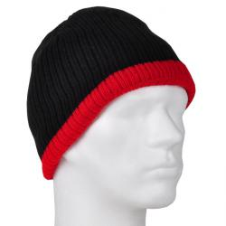"Cap ""Holger"" - 100% Thinsulate - black/red"