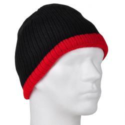 "Cappello ""Holger"" - 100% Thinsulate - Nero / Rosso"