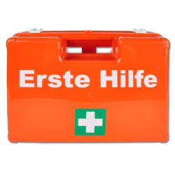 "First Aid Box ""B-SAFETY STANDARD"" - Filled - DIN 13157 - Optional ""Classic"" Acc."