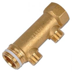 Brass Distribution Tube - 2 Or 3 Outlets - Prolongable