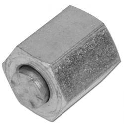 """Ändlock - JIC-gänga - förzinkat stål - 7/16""""-20 till 1 7/8""""-12 - 345 bar"""
