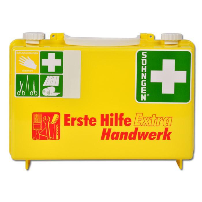 """Verbandkasten """"Extra"""" versch. Ausführungen - gefüllt - DIN 13157"""