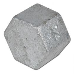 Locking Cap - Annealed Cast Iron - Galvanized And Not Galvanized