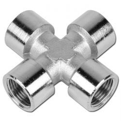 Cross - Nickel-Plated Brass - PN16