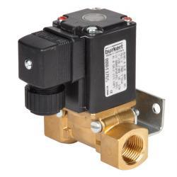 Magnetventil - 2/2-vägs - strömlös stängd - för gaser DVGW - 0 till 3,5 bar