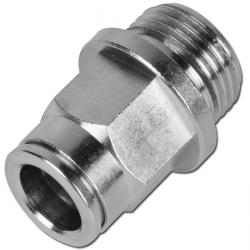 Straight screw-in connector - with cylindrical thread - Series CV