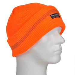 "Synlighed Thinsulate Hat ""RUDI"" - 100% acryl - selvlysende orange"