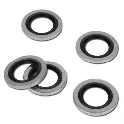 Hydraulic Sealing Rings With NBR Inlay