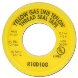 Dichtband - Teflon - hohe Qualität - Breite 12,7 / Stärke 0,1mm