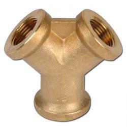 Air Deflector - Twofold - Brass - PN 16