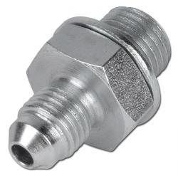 "Double nipple steel G-inch on JIC thread G 1/4"" - 1 1/2"""