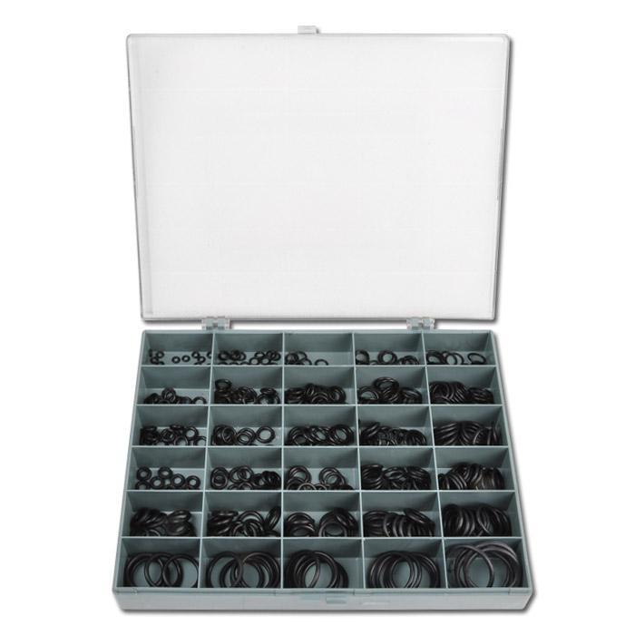 O-ring sortiment - 275 till 425 stycken - tum eller metriska