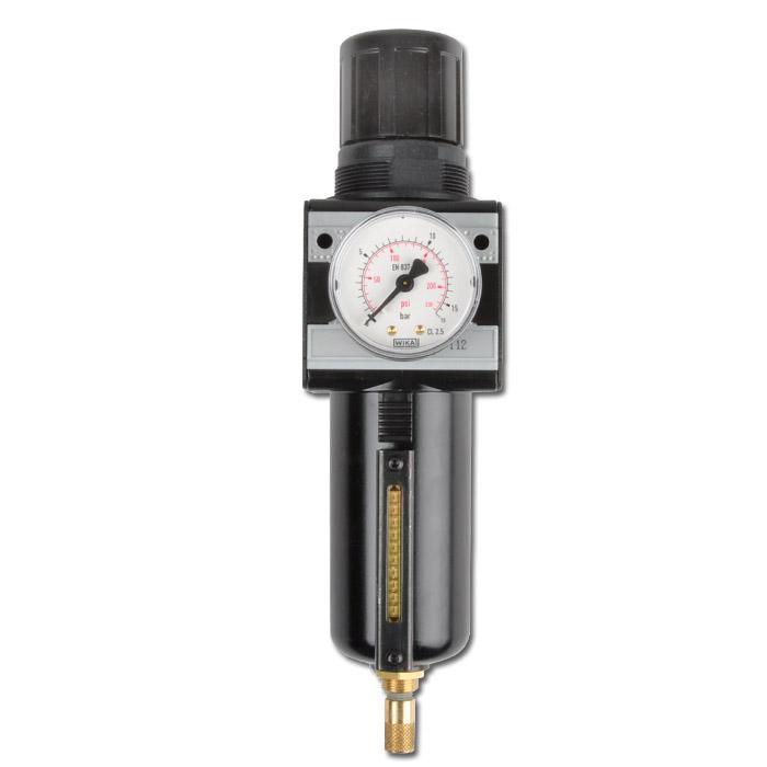 """Régulateur de pression à filtre - raccord G1/2"""" - G3/4"""" - 3500 l/min"""