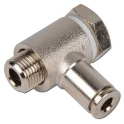 Angle swivel connection - with banjo screw - Series CV