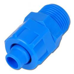 "CK quick connector - Plastic - straight - 1/8 ""to 3/8"" - cylindrical"