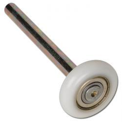 Polyamidrad für Sektional-Torrolle - Kugellager - Rad-Ø 46 mm - Tragkraft 60kg