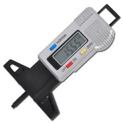 Reifenprofil-Messlehre digital - Messbereich 0-28 mm - Batterie inklusive