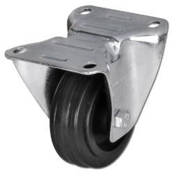 Bockrolle - mit Vollgummirad - Rad-Ø 100 bis 250 mm - Bauhöhe 125 bis 290 mm - Tragkraft 70 bis 295 kg
