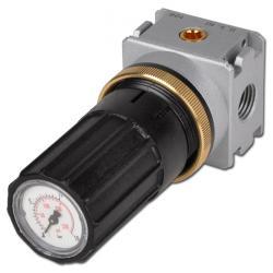 """Régulateur de pression Multifix - entrée de pression des deux côtés - G 1/4"""" - 1"""