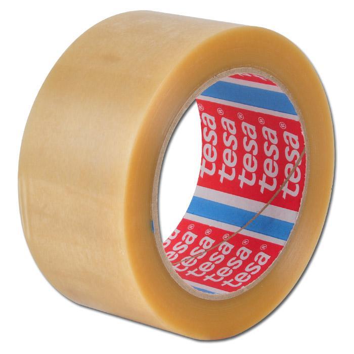 TESA®-Packband - Folie glatt - 50mm x 66m - mittelstark bis stark