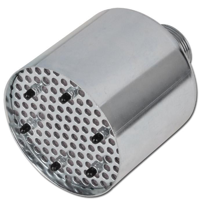Högeffektiv ljuddämpare - för stora luftmängder