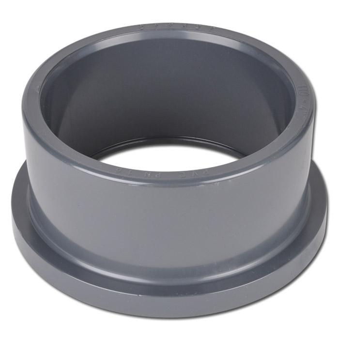 Klebe-Bundbuchsen für Losflansch -  PVC-U - Innen-Ø 20 bis 110 mm - Außen-Ø 27 bis 131 mm -  max.16 bar