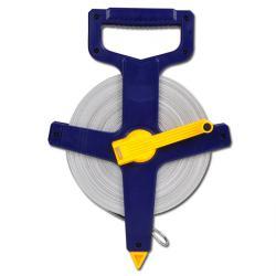 Måttband - 50 m - Vikt : 800 g - Bredd: 12 mm