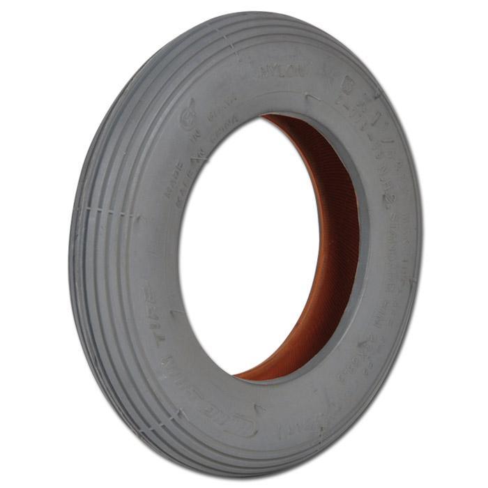Reifendecke - Rillenprofil - Rad-Ø 150 bis 400 mm - Radbreite 30 bis 100 mm - Tragkraft 50 bis 250 kg