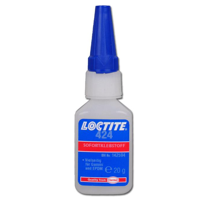 """Klebstoff """"LANDEFELD Loctite 424"""" - für Gummi und Elastomere, einließlich EPDM,"""