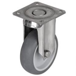 Restposten - Apparate-Rolle - 100 kg - 100 mm - PP/ Edelstahl - mit Platte