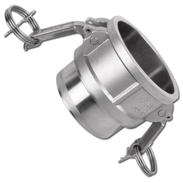 """Camlok Coupling Type DWB - VA - 1/2"""" To 6"""" - With Safety Lever And Welding Sleev"""