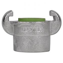 """VA Klauenkupplung - 16bar - Nockenweite 42mm - IG 3/8"""" bis 1"""" - nach DIN 3489"""