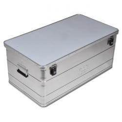 Alu-Boxen - mit Zylinderschlössern - versch. Maße