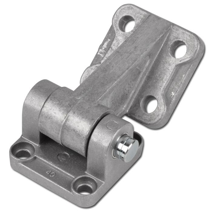 Svängfäste 90° kopplingslänk - cylinder ISO 15552 - aluminium