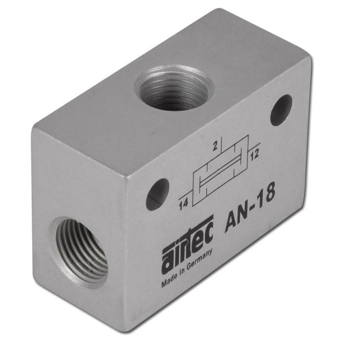 OCH-ventil - precisionsutförande - 1 till 10 bar