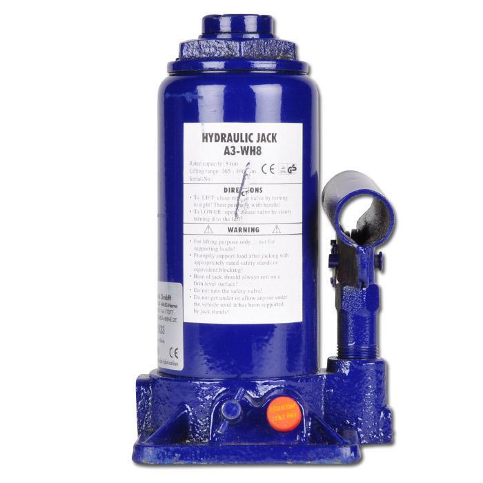 """Stempelheber """"A3-WH"""" - 2 bis 50 t - Schutz gegen Überlastung durch Überdruckvent"""