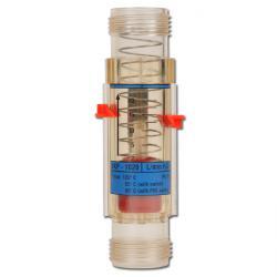 Flödesmätare - viskositetskompenserad - för vatten - max. 16 bar