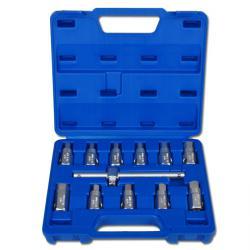 Universal Oil service Wrench Set - 12 pcs en Kunstoffkassette