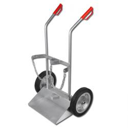 "Steel Bottle Carts ""Type GFR"" - Full Rubber Or Air Wheeled - Wheel Diameter 200-"