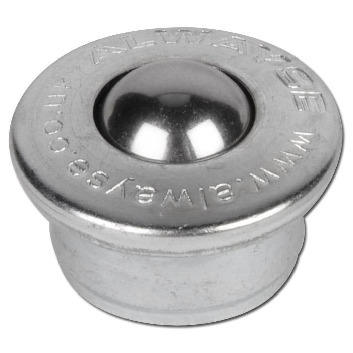 Kulrulle - förzinkat material - 100-1500 kg