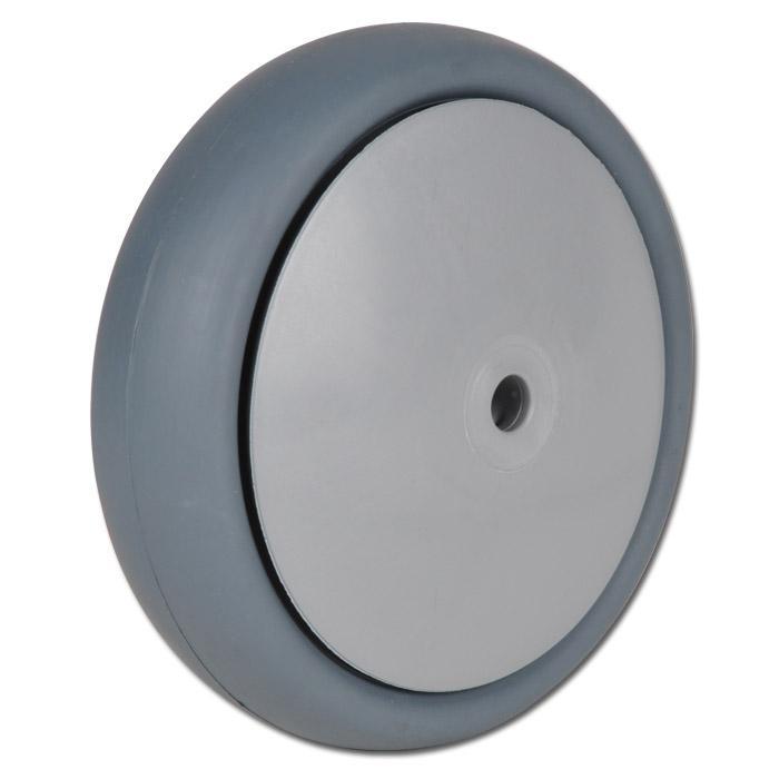 Thermoplastrad für Apparaterollen - mit Kugellager - Rad-Ø 80 bis 200 mm - Tragkraft 80 bis 220 kg